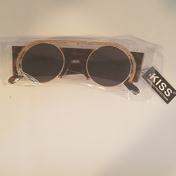Kiss Other - Brown tortoise sunglasses new